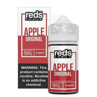 Reds - Apple - 60ML - 0 MG