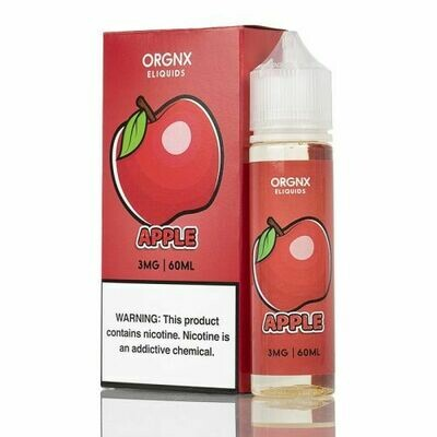 ORGNX APPLE 0MG 60ML