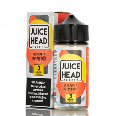 JUICEHEAD - Pineapple Grapefruit Ice - 100ml - 6mg