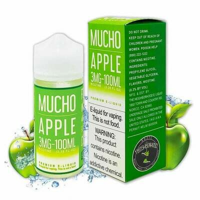 Mucho Apple 3mg 100ml