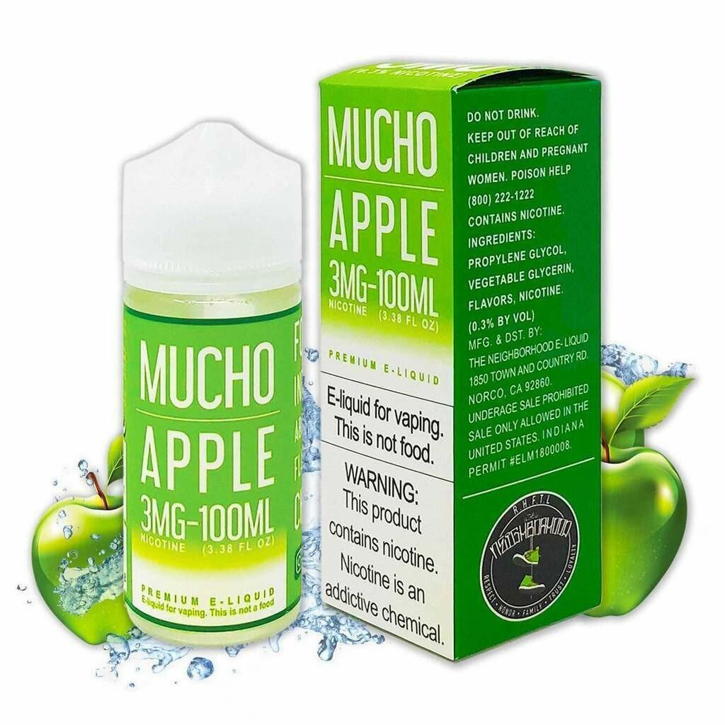 Mucho Apple 6mg 100ml
