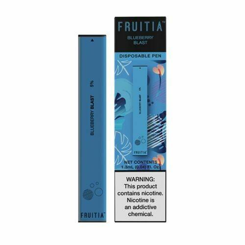 Fruitia Disposable Blueberry Blast