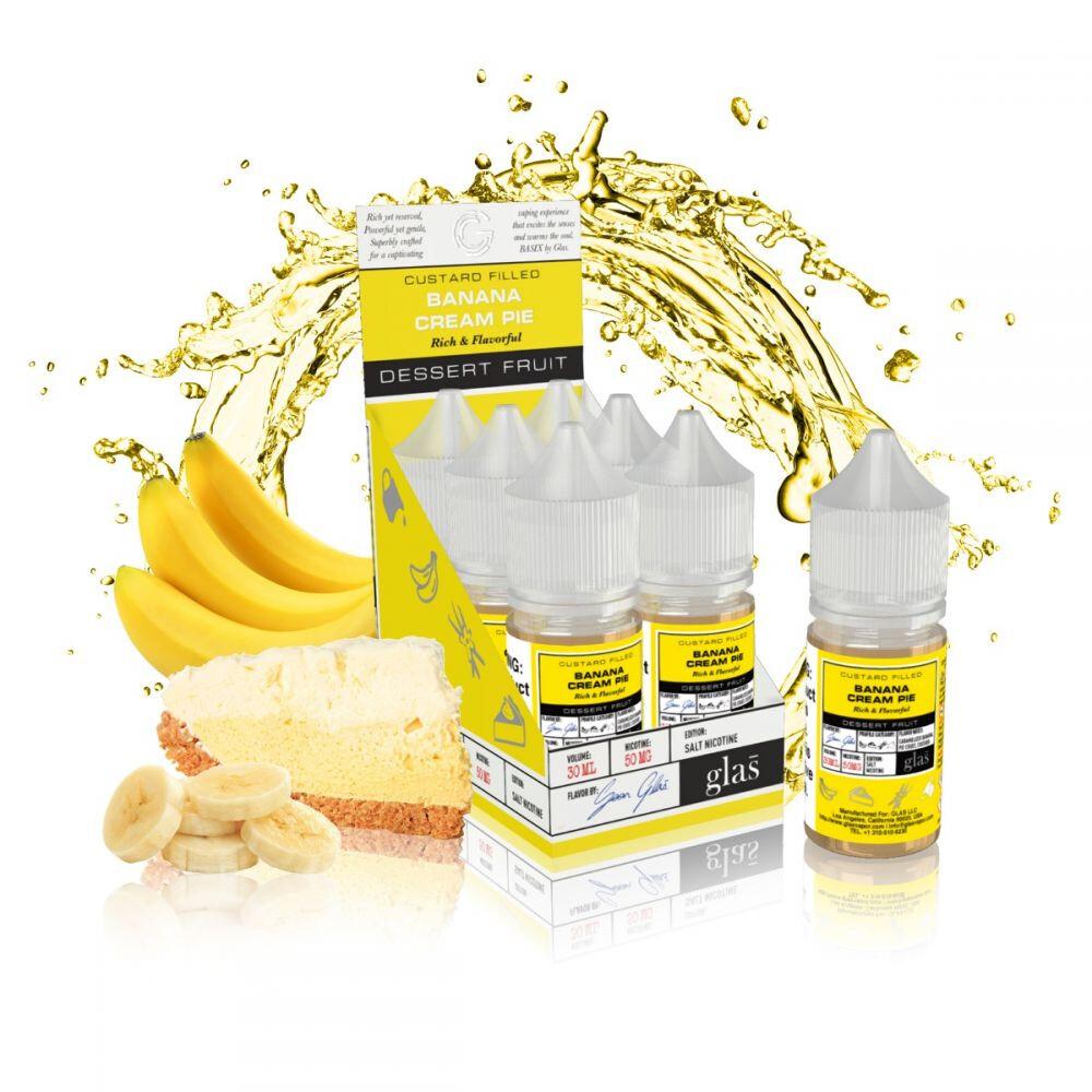 Basix - Banana Cream Pie - 30ML - 30MG