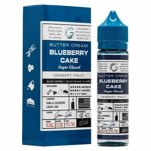 Basix - Blueberry Cake - 60ML - 0 MG