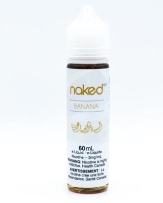 Naked - Banana - 60ML - 3 MG