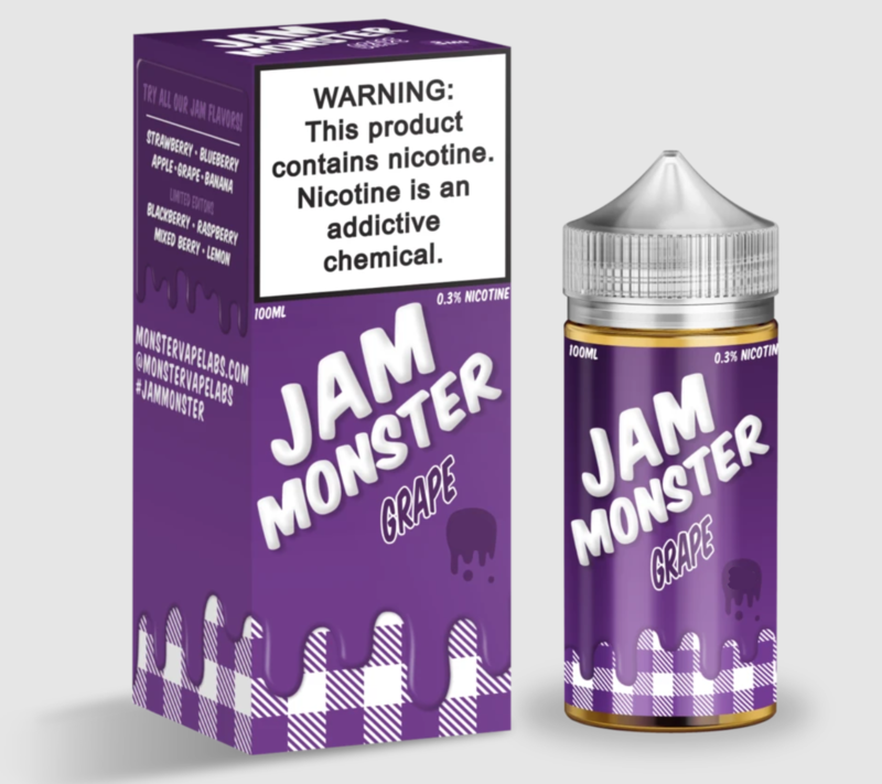 Jam Monster - Grape - 100ML - 6 MG