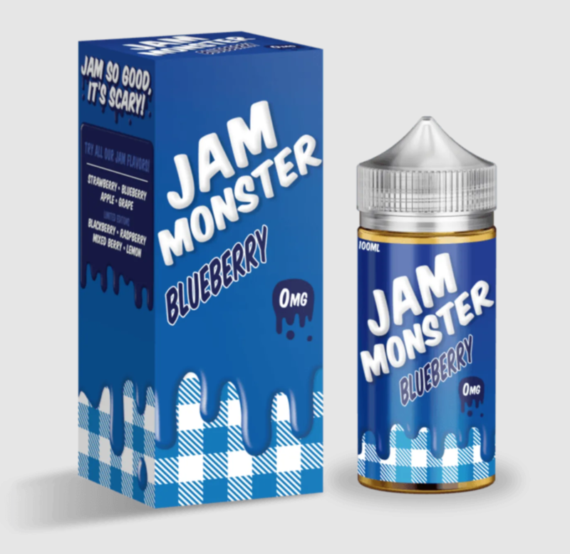 Jam Monster - Blueberry - 100ML - 0 MG