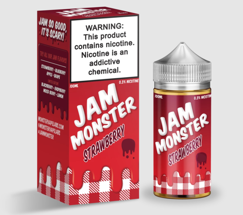Jam Monster - Strawberry - 100ML - 6 MG