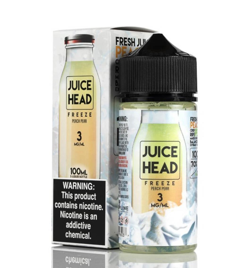 Juice Heads - Peach Pear - 100ML - 3 MG