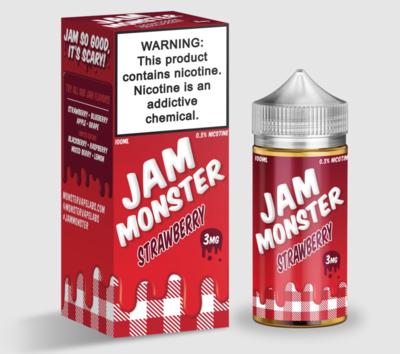 Jam Monster - Strawberry - 100ML - 3 MG