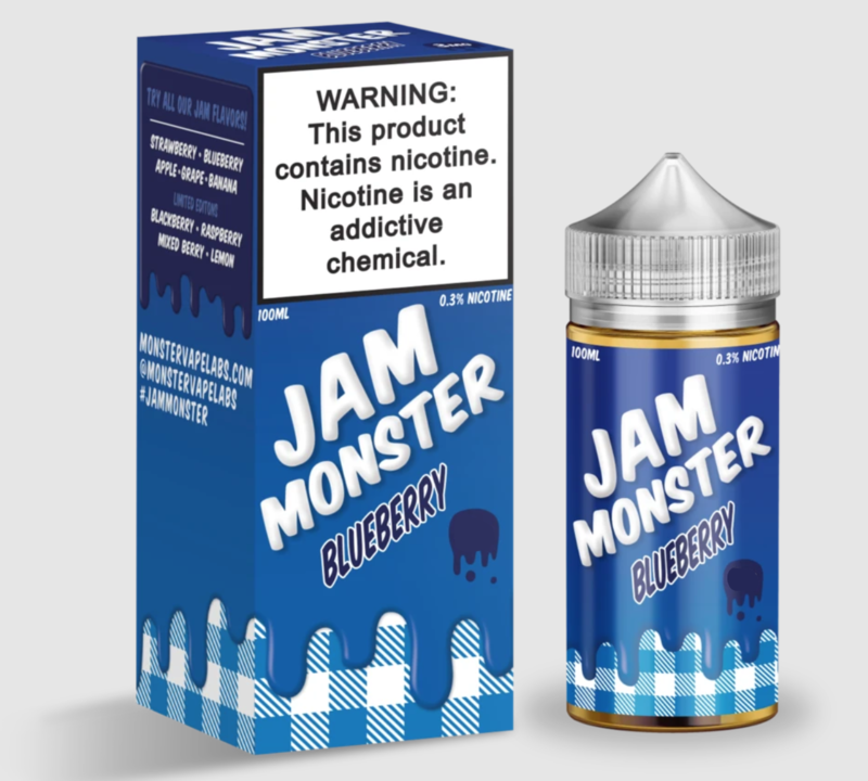 Jam Monster - Blueberry - 100ML - 6 MG