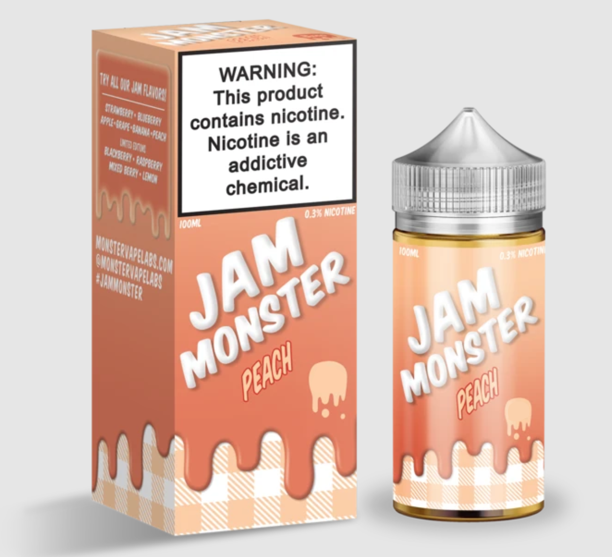Jam Monster Peach 6mg 100ml