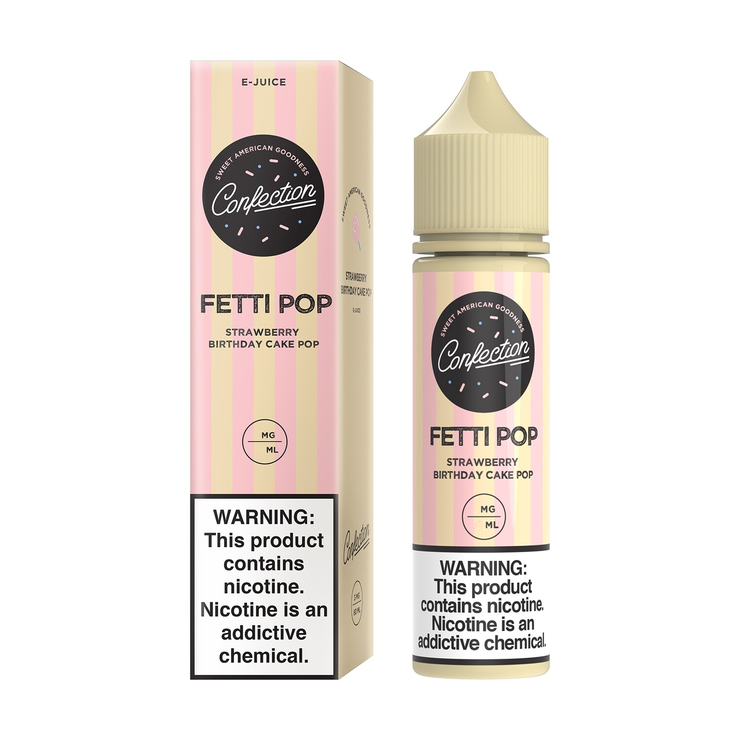 Confection Fetti Pop 0mg 60ml