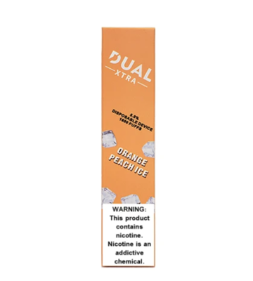 Dual Xtra 1600 Orange Peach Ice