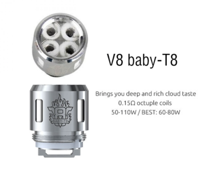 Smok V8 Baby T8 Coil