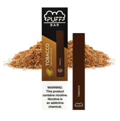 Puff Bar 300 Tobacco