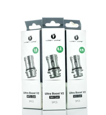 Lost Vape Gemini Ultra Boost V2 M4 .2 Coil