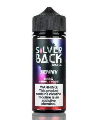 Silverback Jenny 6mg 120ml