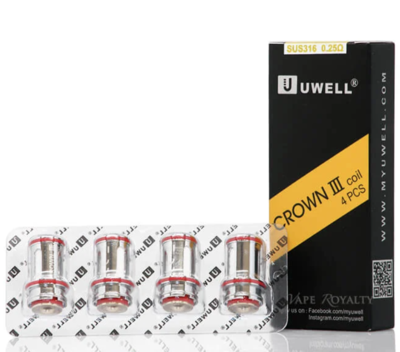 Crown 3 Sus 2.5 Coils