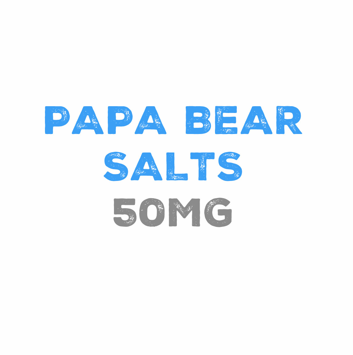Papa Bear Salts 50mg