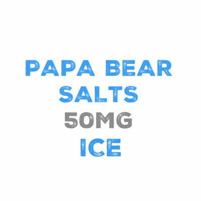 Papa Bear Salts Ice 50mg