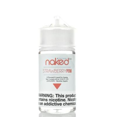 Naked - Strawberry Pom Ice - 60ML - 6 MG