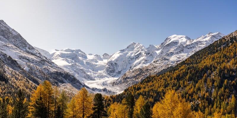 Bernina Glacier, Switzerland