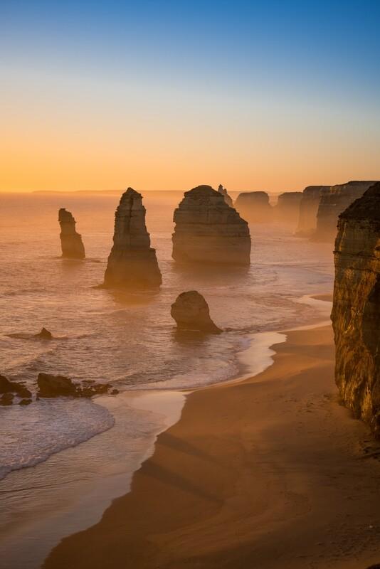 Sunset on the Apostles 2