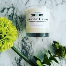 Choose Happy candle by Arrow it Forward