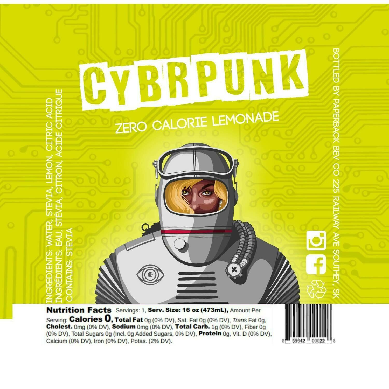 CYBRPUNK Zero Calorie Lemonade
