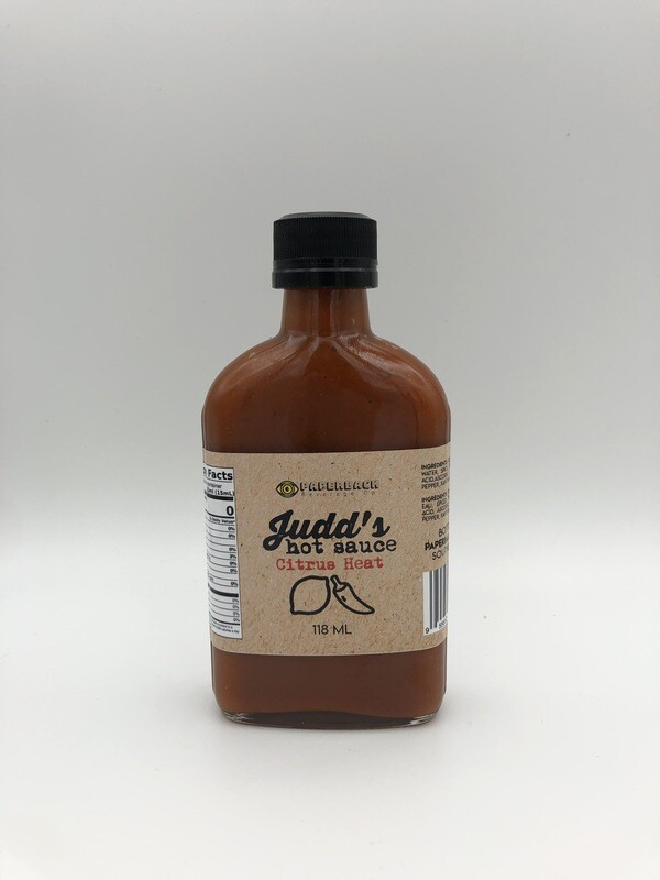 Judd's Hot Sauce - Citrus Heat