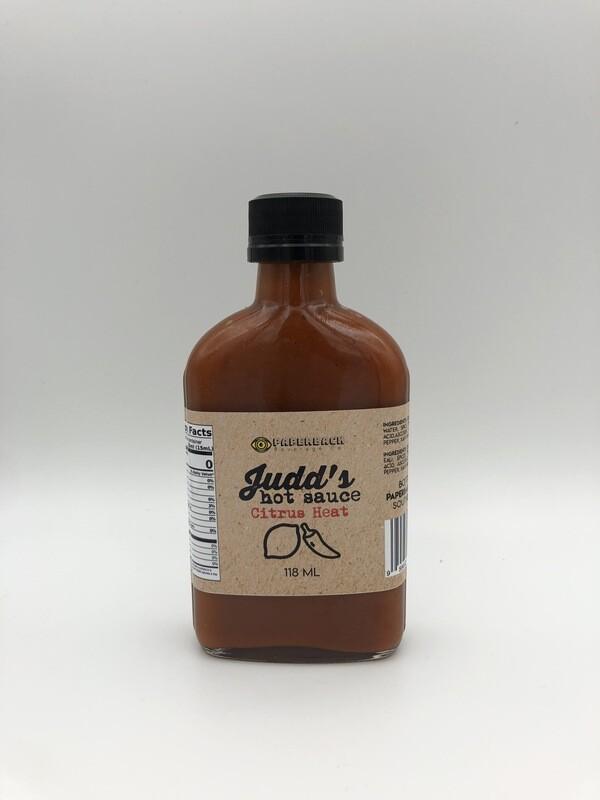 Judd's Hot Sauce - Citrus Heat