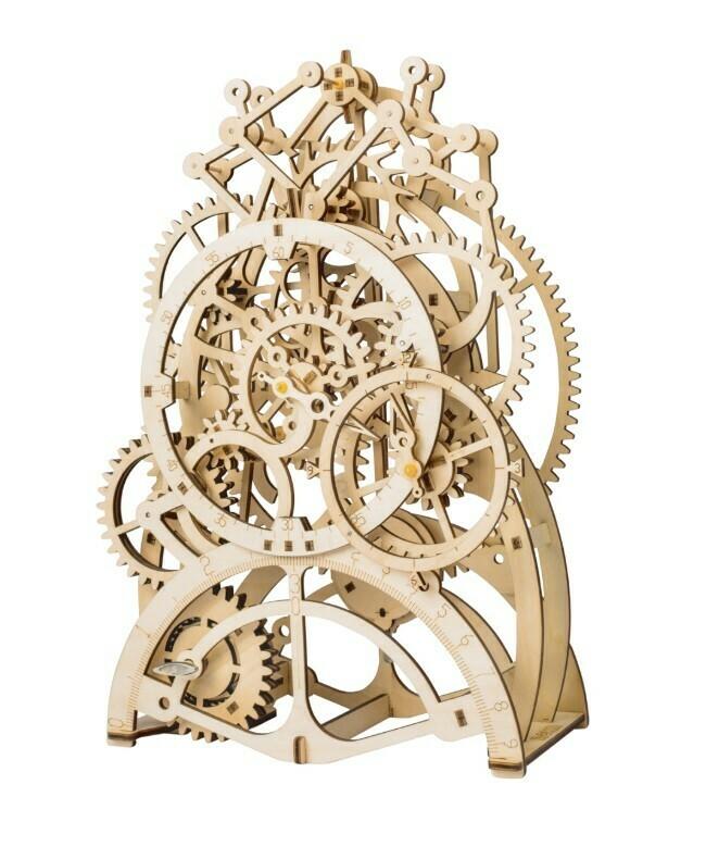 Pendulum Clock (It works!)