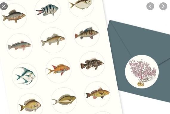Marine Stickers & Labels