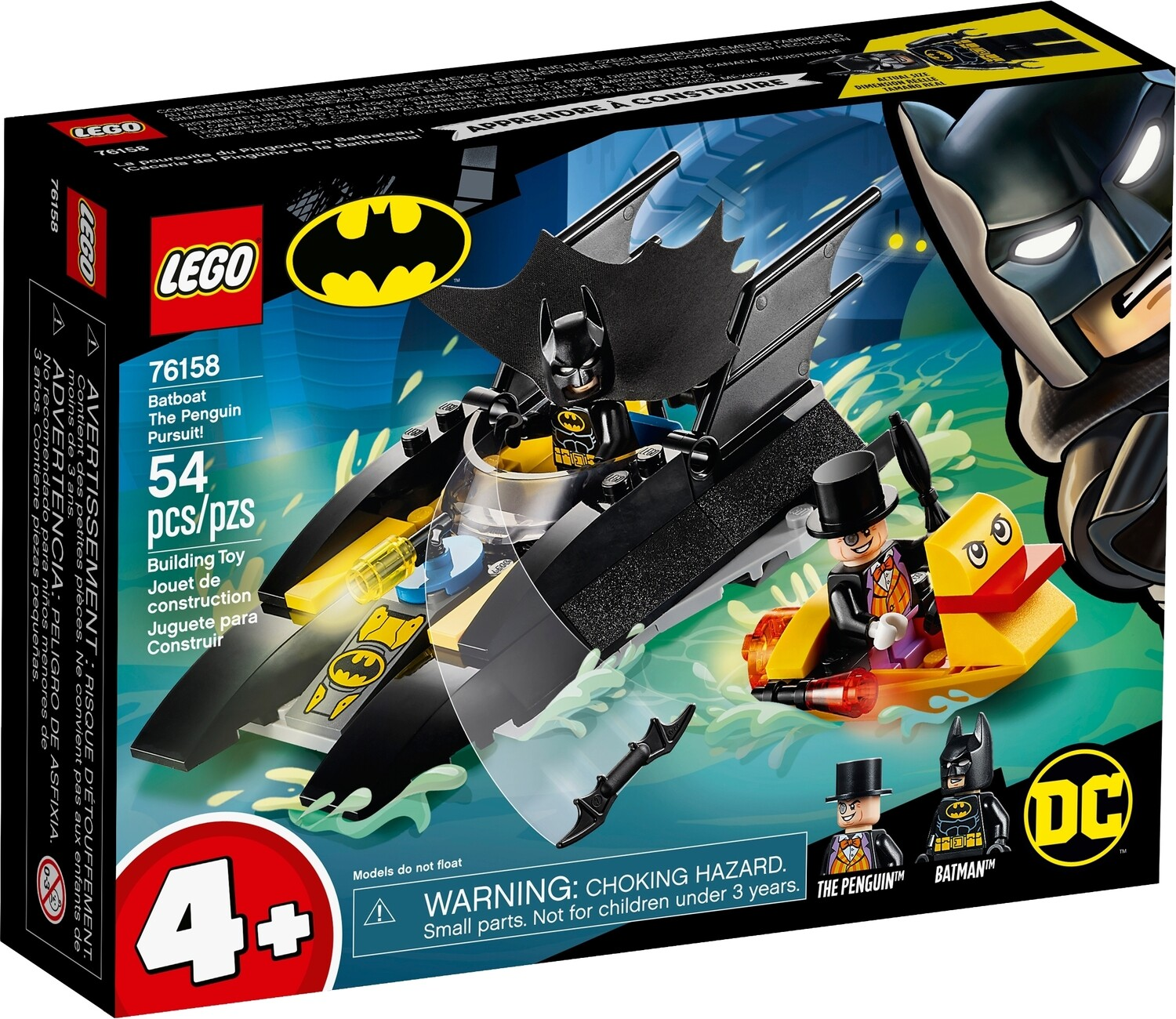 Lego Superhero Batman Boat