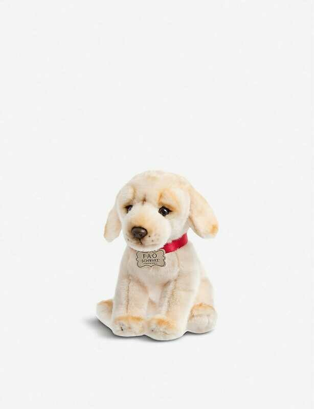 FAO Plush Puppy Yellow Labrador