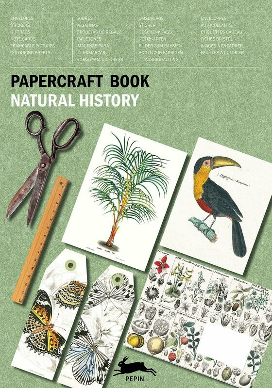 PEPIN Papercraft Book Natural History