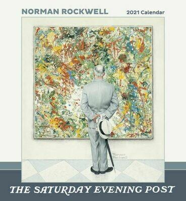 Norman Rockwell 2021 Wall Calendar