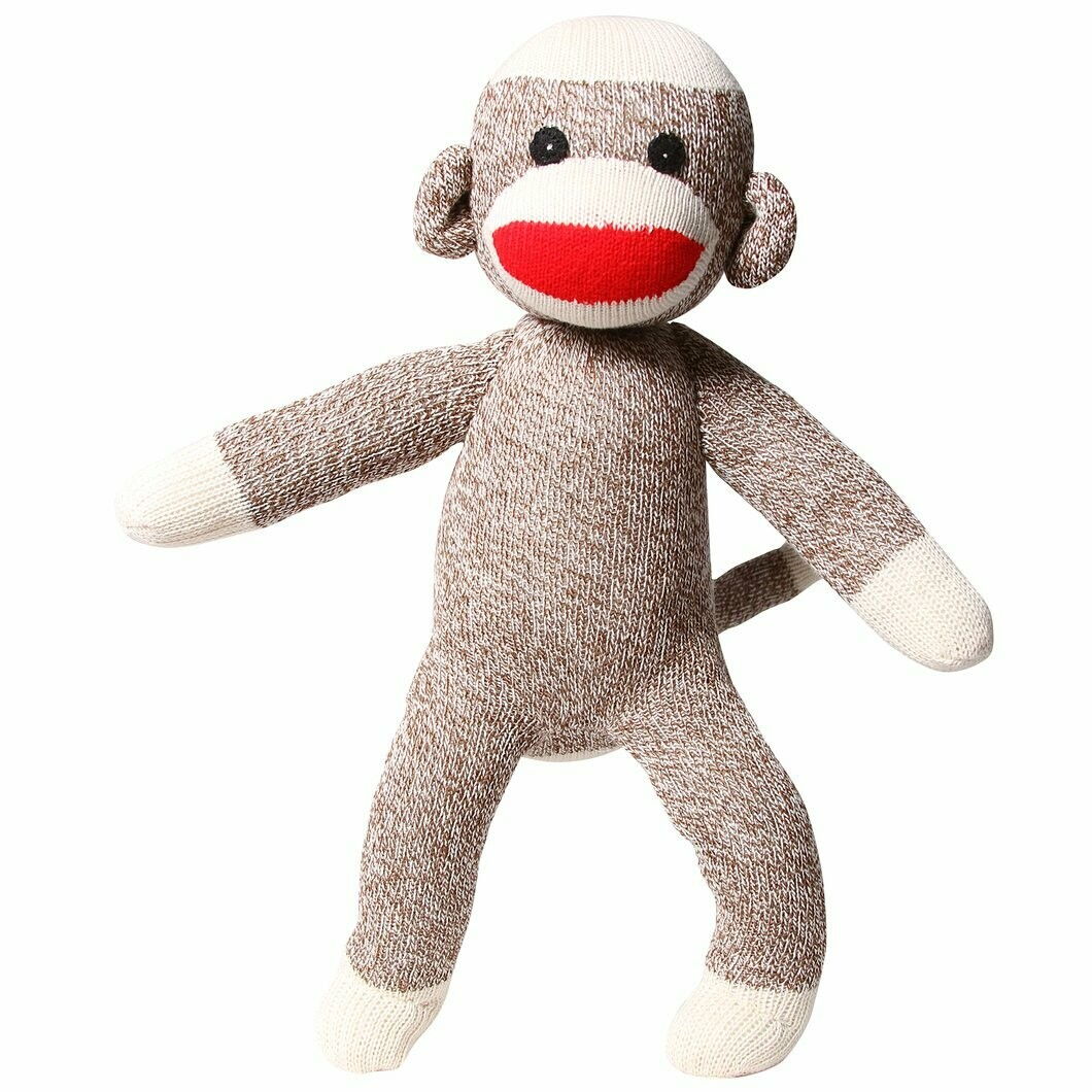 Rockford Red Heel Sock Monkey Socks