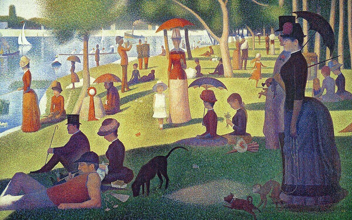 Puzzle: Seurat's Sunday Afternoon on La Grande Jatte