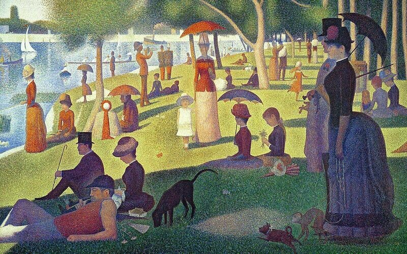 Puzzle: Seurat's Sunday Afternoon on La Grande Jatte