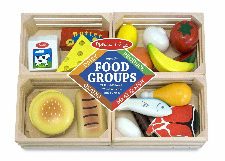 Melissa & Doug Food Groups 21 Pieces