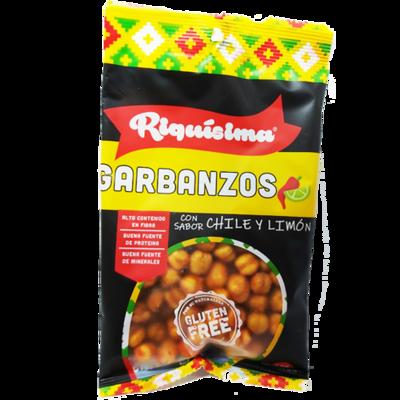 Garbanzos Chile Limón 80g