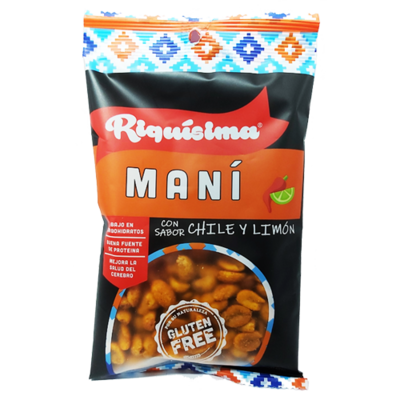 Maní Chile Limón 80g