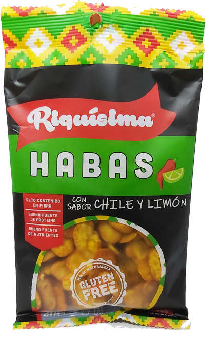 Habas Chile Limón 80g