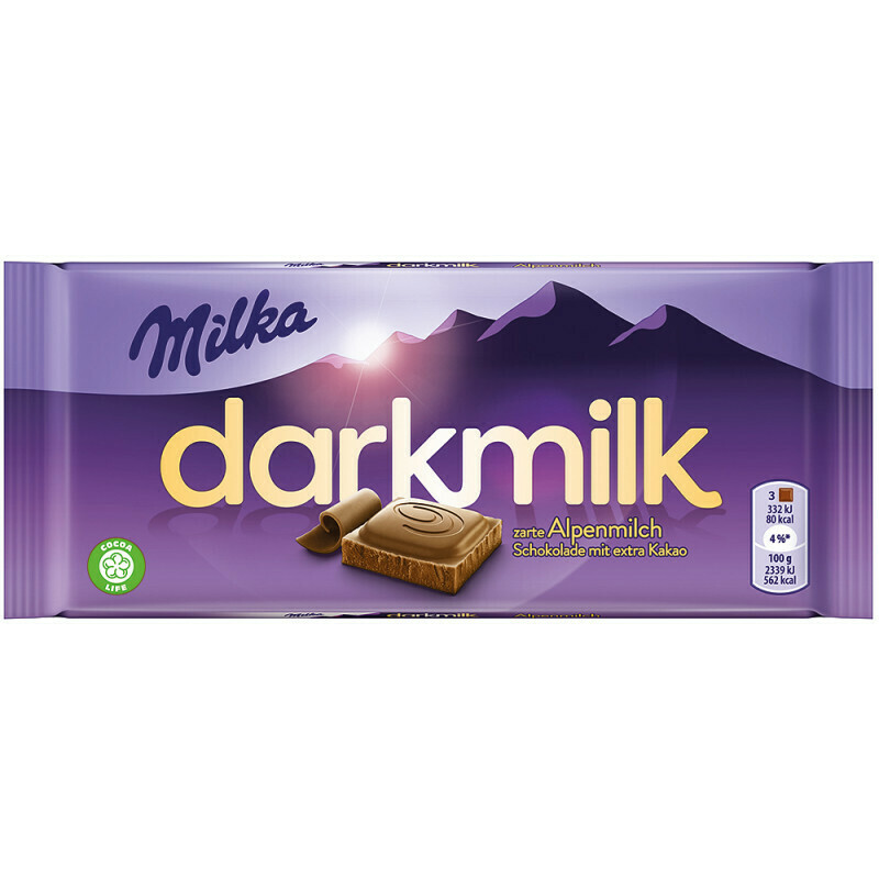 Chocolate Milka Darkmilk