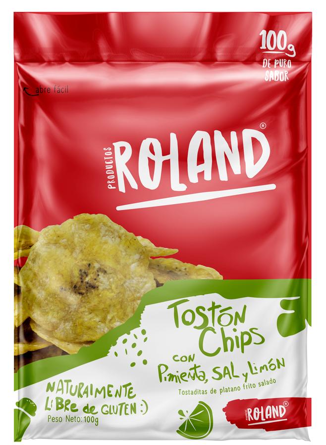 Tostón Chips con Pimienta, Sal y Limon