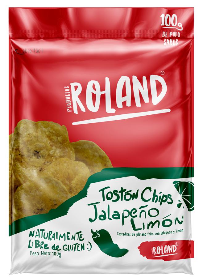 Tostón Chips Jalapeño Limón