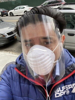 1 Pc Plastic Face Shield Protection