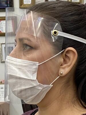 12 Pcs Plastic Face Shield Protection
